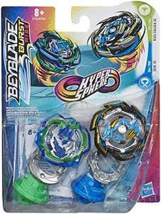 Beyblade Hypersphere Dual Pack Ace - Dos Tops Beyblade - Rock Dragon D5 y Ogre O5