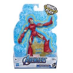 Marvel Avengers Bend And Flex Figura de Acción de 6 Pulgadas – Iron Man