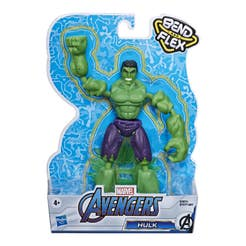 Marvel Avengers Bend And Flex Figura de Acción de 6 Pulgadas – Hulk