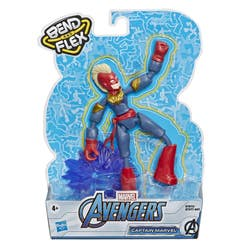 Marvel Avengers Bend And Flex Figura de Acción de 6 Pulgadas – Capitana Marvel