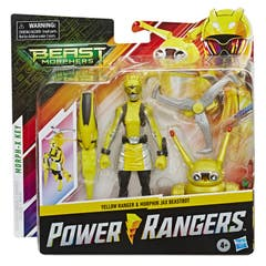 Power Rangers E8087 Power Rangers Figuras de 6 Pulgadas Yellow Ranger