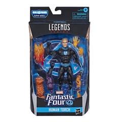 Marvel Fantastic Four Legends Figura 6 pulgadas - Human Torch