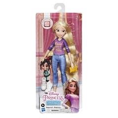 Disney Princesas Comfy Squad Muñeca Básica Rapunzel