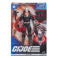 G.I. Joe Classified Series - Figura Premium Destro 03 con múltiples Accesorios y empaque con Arte Distintivo - 15 cm