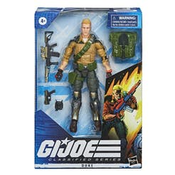 G.I. Joe Classified Series - Figura Premium Duke 04 con múltiples Accesorios y empaque con Arte Distintivo - 15 cm