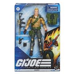 G.I. Joe Classified Series - Figura Premium Duke 04 con múltiples Accesorios y empaque con Arte Distintivo - 15 cm