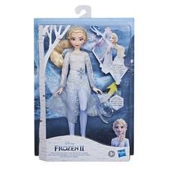 Frozen E8569 Frozen 2 Muñeca Elsa Descubrimiento Mágico Juguete Hasbro
