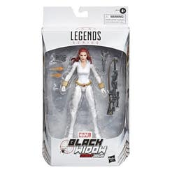 Marvel E8712 Marvel Legends Figura de Acción de 6 Pulgadas Black Widow Deadly Origin Juguete Hasbro
