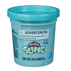 Play Doh E8807 Play-Doh Slime Simple Can Teal Métalico