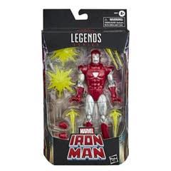 Hasbro Marvel Legends Iron Man Silver Centurion Walgreen E8893