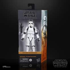 Star Wars The Black Series - Imperial Stormtrooper a escala de 15 cm - The Mandalorian - Edad: 4+