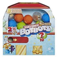 Transformers E8941 Transformers Toys BotBots Serie 6 Empaque sorpresa: Máquina de chicles