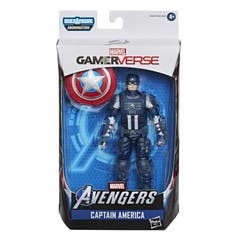 Hasbro Marvel Legends Series Gamerverse - Figura coleccionable del Capitán América de 15 cm