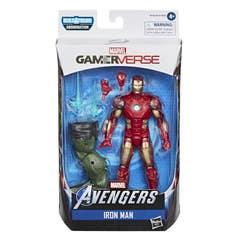 Hasbro Marvel Legends Series Gamerverse - Figura coleccionable de Iron Man de 15 cm