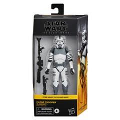 Star Wars The Black Series - Clone Trooper (Kamino) - Figura de 15 cm de Star Wars: The Clone Wars - Edad: 4 años en adelante