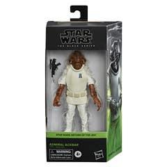 Star Wars The Black Series - Admiral Ackbar a escala de 15 cm - Star Wars: El regreso del Jedi - Edad: 4+
