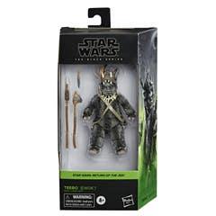 Star Wars The Black Series - Teebo (Ewok) a escala de 15 cm - Star Wars: El regreso del Jedi - Edad: 4+
