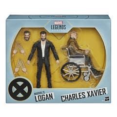 Marvel Legends E9457X-Men Logan and Charles Xavier E9457