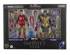 PREVENTA Marvel F0192 Iron Man & Thanos MVL LEGENDS INFINITY 10 AVN4