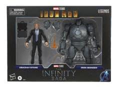 PREVENTA Marvel Legends Infinity F0218  Iron Monger & Obadiah Stane