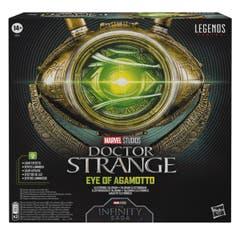 Marvel Legends Series Doctor Strange - Ojo de Agamotto - Talismán electrónico coleccionable para juego de rol - Edad recomendada: 14+