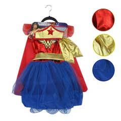 Disfraz Infantil Wonder Woman Talla 2