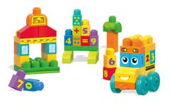 Mega Bloks® Autobús Cuenta 1,2,3 con 45 bloques