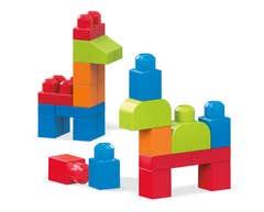 Mega Bloks® Bolsa Mediana Construcción, 40 bloques