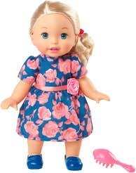 Little Mommy Bebita Tierna Como Yo Vestido Rosas