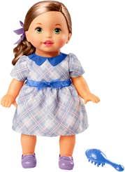 Little Mommy Bebita Tierna Como Yo Vestido Azul