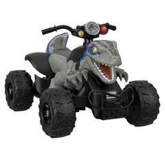 Power Wheels Vehículo Jurassic World Dino Racer