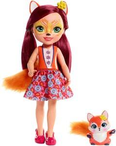 Enchantimals Felicity Fox zorro y muñeca