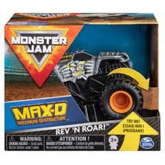 Monster Jam de Fricción 1:43 Spin MAX-D