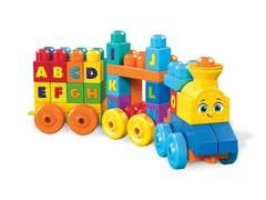 Mega Bloks® Tren ABC Musical de Construcción