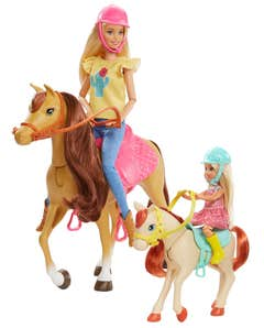 Barbie Familia Chelsea Diversión Caballo