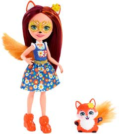 Enchantimals Felicity Fox muñeca zorro