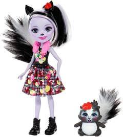 Enchantimals Sage Skunk Muñeca zorrillo