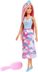 Barbie Dreamtopia Princesa Peinados Mágicos