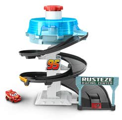 Disney Pixar pista Rust-eze en Espiral