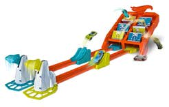Hot Wheels Action Pista Vueltas y Choques