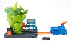 Hot Wheels City Pista Triceratops Destructor