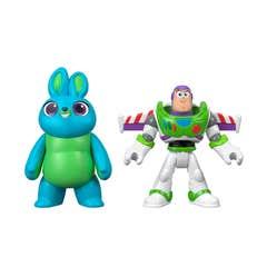 Imaginext Toy Story 4 Buzz y Personaje Película