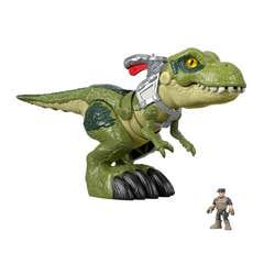 Imaginext Jurassic World T-Rex Mordida Feroz