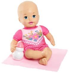 Little Mommy Bebita Recién Nacida Flores