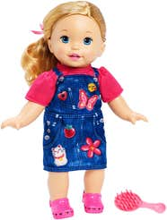 Little Mommy Bebita Tierna Como Yo Vestido Mezclilla