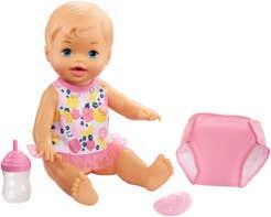 Little Mommy Muñecas Hora De Hacer Pipí Rosa