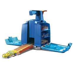 Hot Wheels Track Builder Caja Lanzadora De Autos
