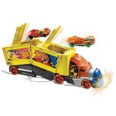 Hot Wheels City Camión de Choques y Acrobacias
