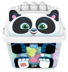 Mega Bloks® Panda De Bloques 25 bloques