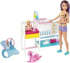 Barbie Familia Skipper Guardería De Bebés